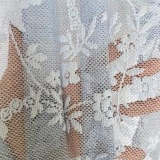 Тюль ажурный голубой арт.Domtex 57