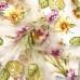 Комплект штор арт.Nil 35 из тюля с крупными цветами