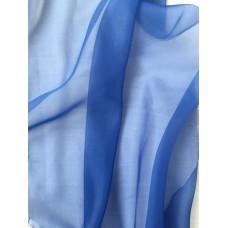 """Тюль синий """"Омбре"""" арт.Domtex 113"""
