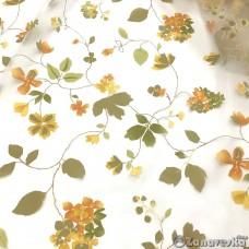 Тюль арт.NIL 36 органза с цветами